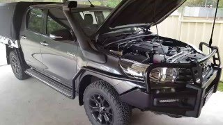 2016 Toyota Hilux Duel Battery System