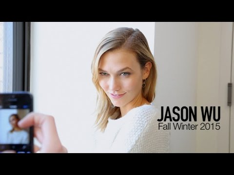KARLIE KLOSS BACKSTAGE  X JASON WU FALL 2015 | MODTV