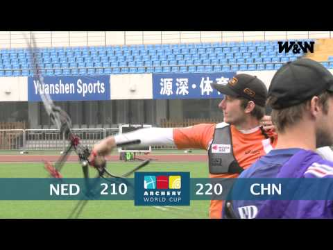 W&W Archery Fan Reporter - Shanghai Day 3 - Team Recurve Qualifications - World Cup 2013