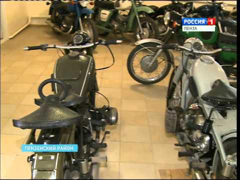 Пензенец собрал самую большую в России коллекцию раритетных мотоциклов