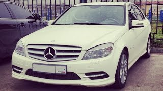 Передний бампер Mercedes-Benz C 200 W204 CGI BlueEFFICIENCY 2010г.