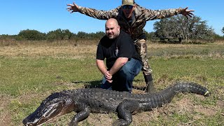 GIANT GATOR & BOAR HUNT + Quail & Dove Catch Clean & Cook