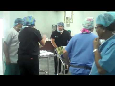 First Patient Surgery in Nepal Taped Via Cisco Flip