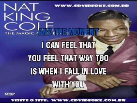 Nat King Cole   When I Fall In Love