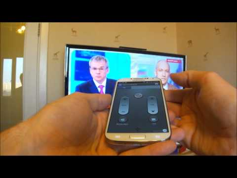 Samsung Galaxy S4 - инфракрасный датчик (as a TV remote control)