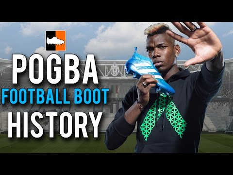 Paul Pogba's Football Boot History | What boots/cleats does he wear?