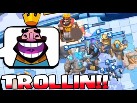 Clash Royale Epic Funniest Battles Ever Prince And Bowler Decks