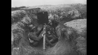 Photos of German Military Photographers During World War 1 (1910's)