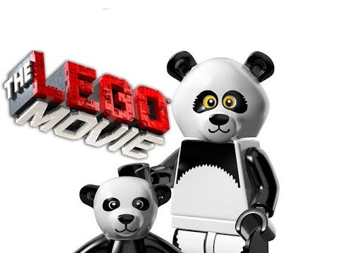 PANDA! - LEGO The Movie - Minifigures Blind BagS