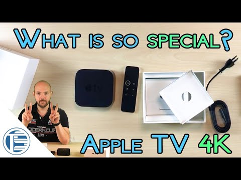 Tech review of Apple TV 4K HDR | Overview | Unboxing | How to setup instruction | 2017 | Airplay