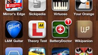 Cute little app screenshots vid made on iMovie on iPhone 4