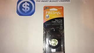 Armor All Freshfx Car Air Freshener Review(Dollar Tree Item)