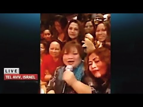 X-Factor winner celebrates with Pinoys in Israel