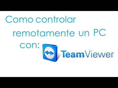 Como controlar remotamente un PC con Team Viewer 8.
