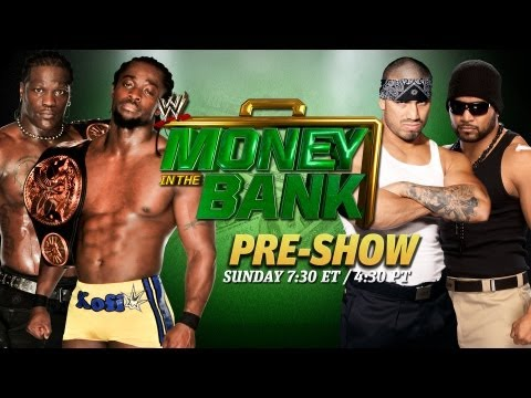 Money in the Bank Live Pre-Show