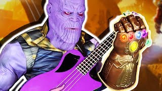 THANOS plays BASS?! (ENDGAME SECRET SCENE)
