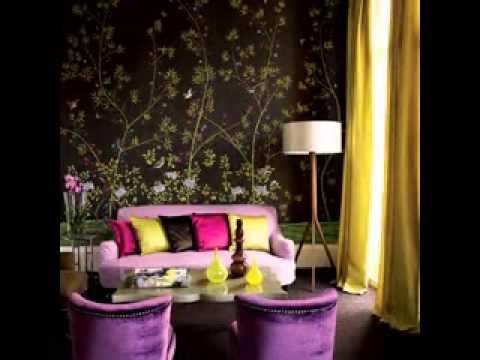Wallpaper design for living room