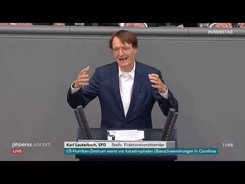 Bundestagsdebatte zum Etat für Gesundheit am 14.09.18
