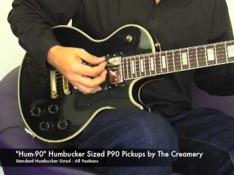 Humbucker Sized PPickup - Hum-- Creamery Guitars Pickups
