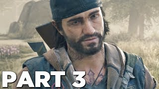 DAYS GONE Walkthrough Gameplay Part 3 - BOOZER (PS4 Pro)
