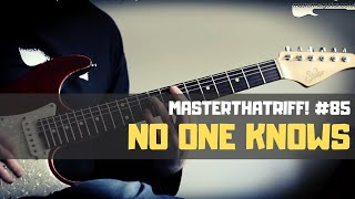 """No One Knows"" by Queens Of The Stone Age - Riff Guitar Lesson w/TAB - MasterThatRiff! 85"