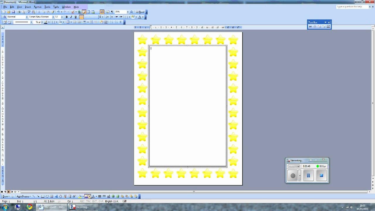 Ворд как сделать рамку на странице Как сделать рамку в Ворде (Word)