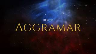World Of Warcraft | Affliction Warlock 🆚 Aggramar Heroic Mode (Legion FireStorm 7.3.5 PVE POV)