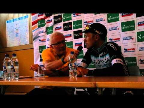Tour de Suisse, 6. Etappe: Interview mit Etappensieger Matteo Trentin