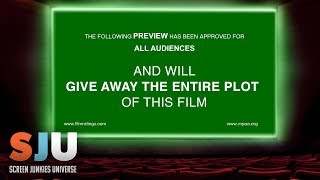 Are Movie Trailers Giving Away Too Much? - SJU