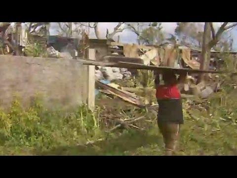 A look at Vanuatu three days after Cyclone Pam