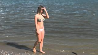Teen in Tiny Bikini