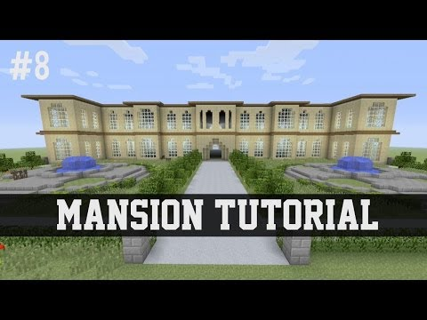 Mansion Tutorial Minecraft PS3 Xbox 360 #8