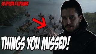 Things You MISSED! Game Of Thrones Season 8 Episode 4 (Explained)