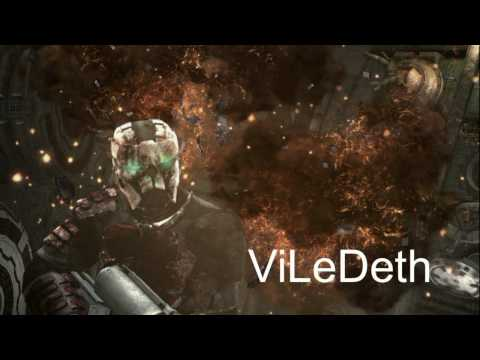 Dead Space Bloody Military Armor