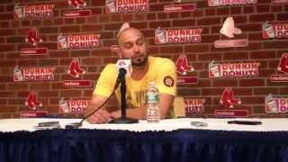 Shane Victorino breaks down in tears leaving Boston
