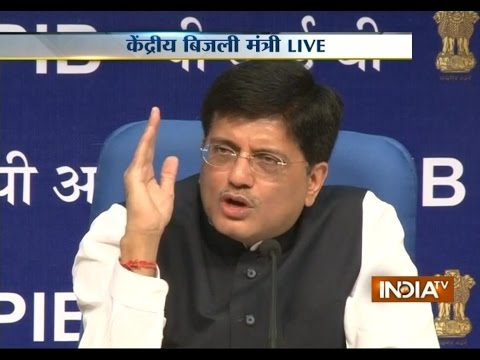 Power Minister Piyush Goyal Speaking Live From Delhi - India TV