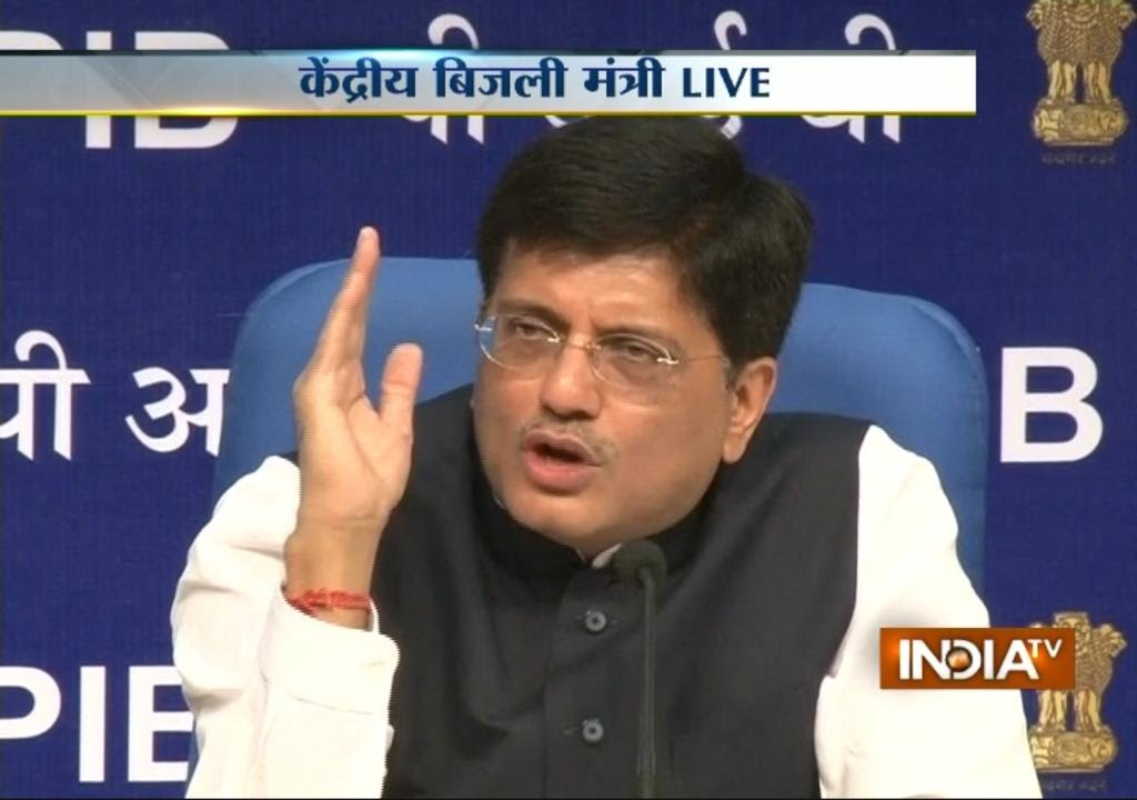 Ministers Powers Power Minister Piyush Goyal