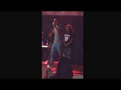 Rap performance Forbidden poet