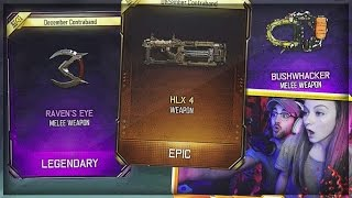 WE GOT THE NEW WEAPONS!! (CRAZY SUPPLY DROP OPENING) - NEW BO3 GUNS