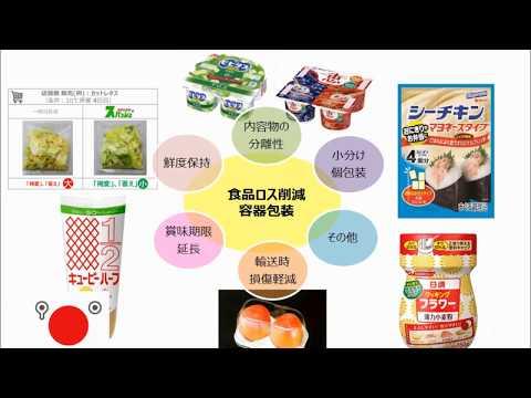 【ろすのん】容器で減らそう!食品ロス削減!!