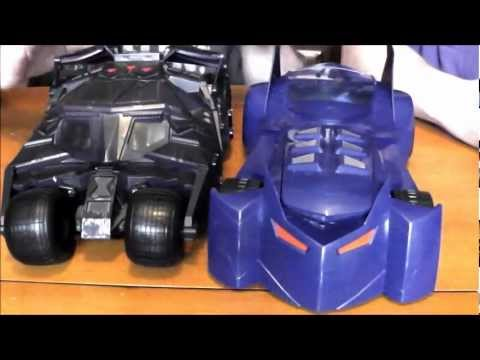 Batman: Power Attack Total Destruction Batmobile Review
