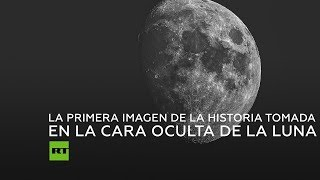 Primera imagen de la historia tomada en la cara oculta de la Luna