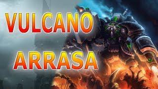 Vulcano o Blaze HEROES OF THE STORM GAMEPLAY ESPAÑOL torres de fatalidad OLI
