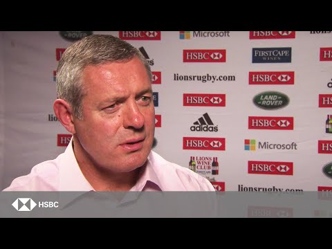 Warren Gatland goes under the spotlight with Gavin Hastings