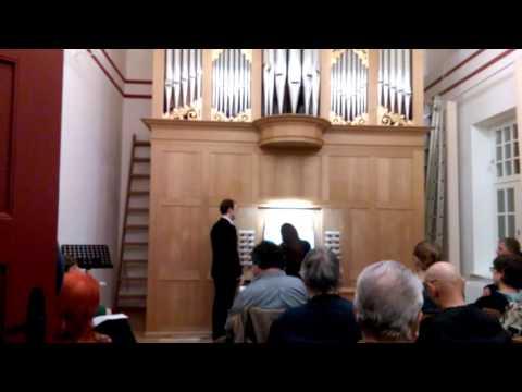 Кребс, Иоганн Людвиг - Фантазия для флейты-траверсо и органа до мажор