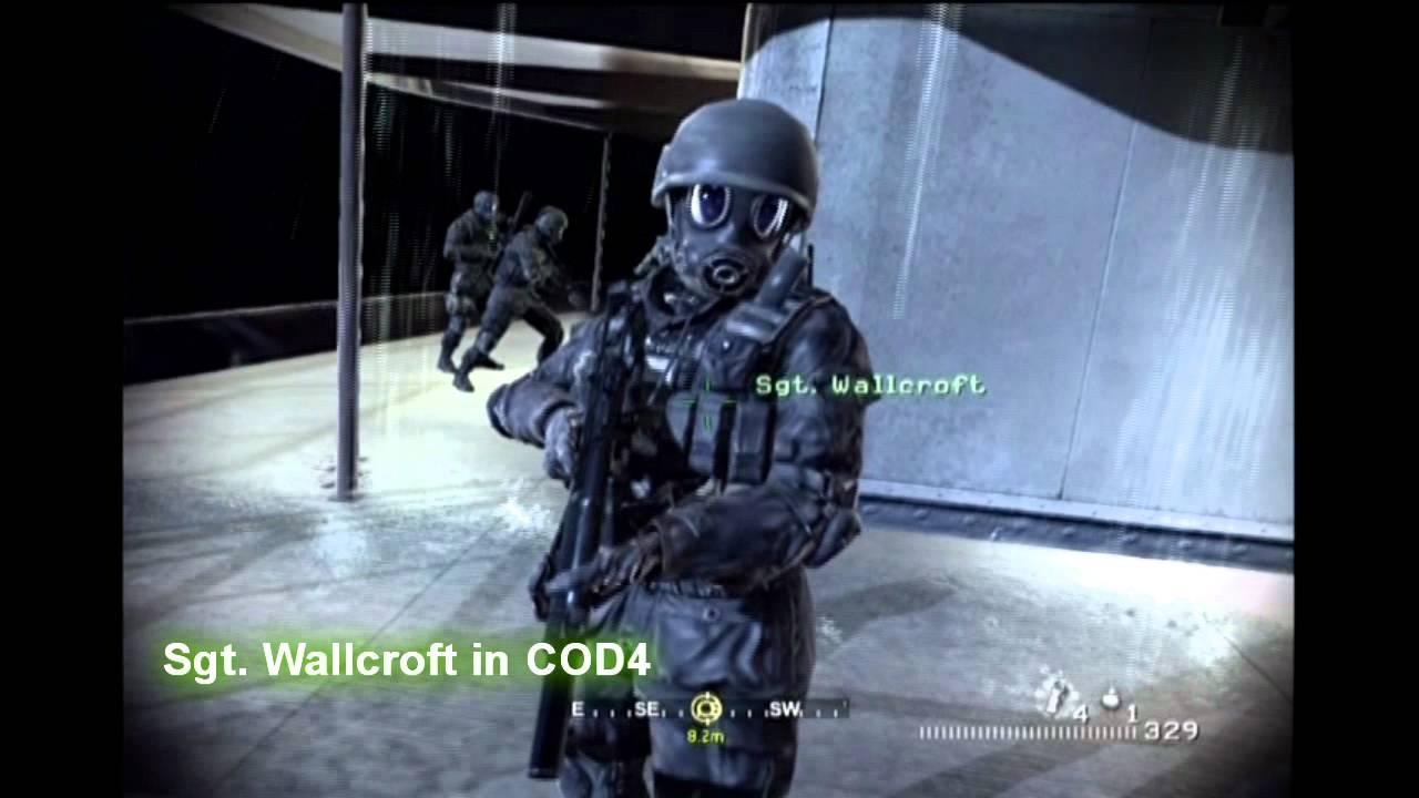 Sgt Wallcroft In MW3 And CoD4 YouTube