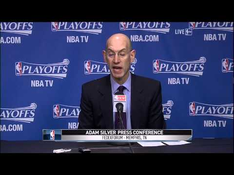 NBA commissioner Adam Silver on Clippers owner Donald Sterling