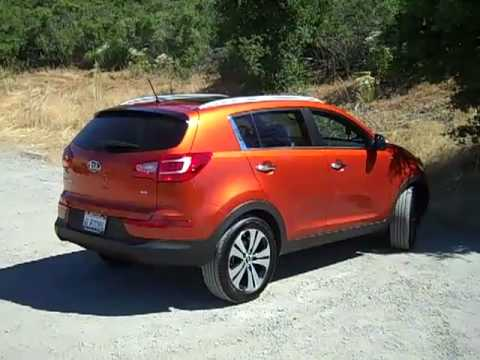2011 Kia Sportage Small SUV with Big Value  thefamilycar.com