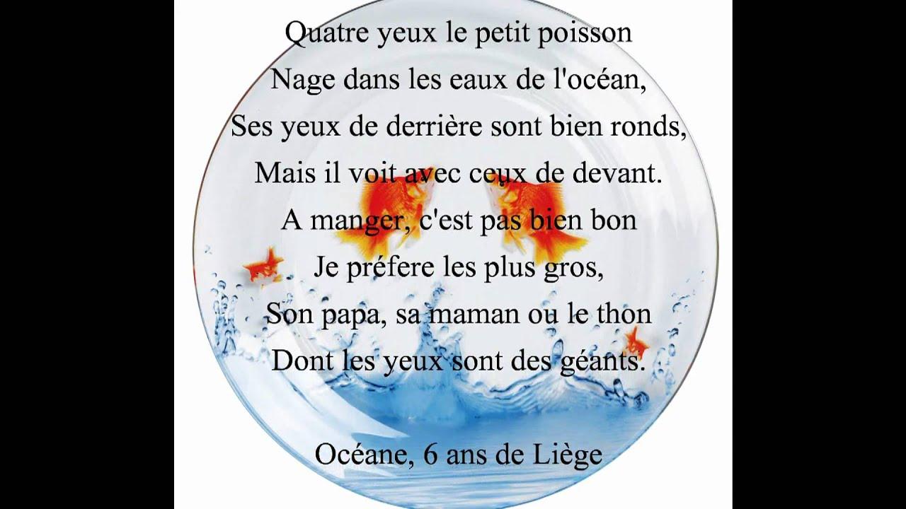 Petit poisson rouge claude lachapelle youtube for Petit poisson rouge