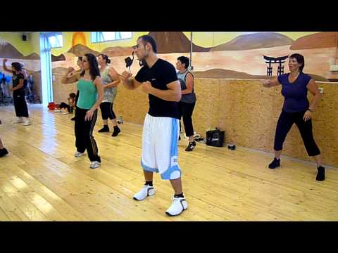 Zumba Living Well- fuego fuego the roof is on fire